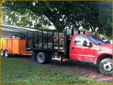 Roll-off trailer rental